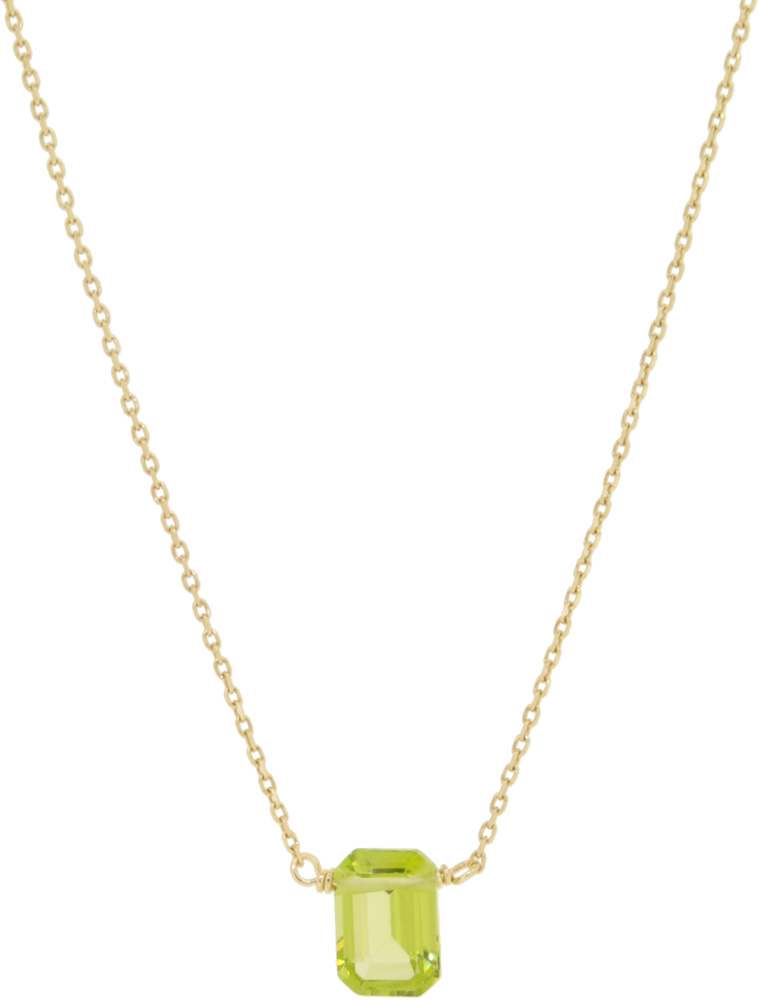 Peridot<br>13W-210 Candy Necklace (S) 36+4cm ¥16,000+tax<br>13W-220 Candy Necklace (L) 39+3cm ¥19,000+tax