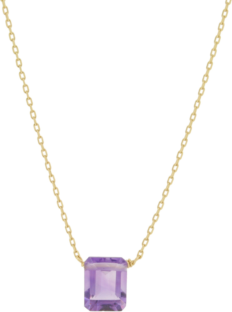 Amethyst<br>13W-210 Candy Necklace (S) 36+4cm ¥16,000+tax<br>13W-220 Candy Necklace (L) 39+3cm ¥19,000+tax