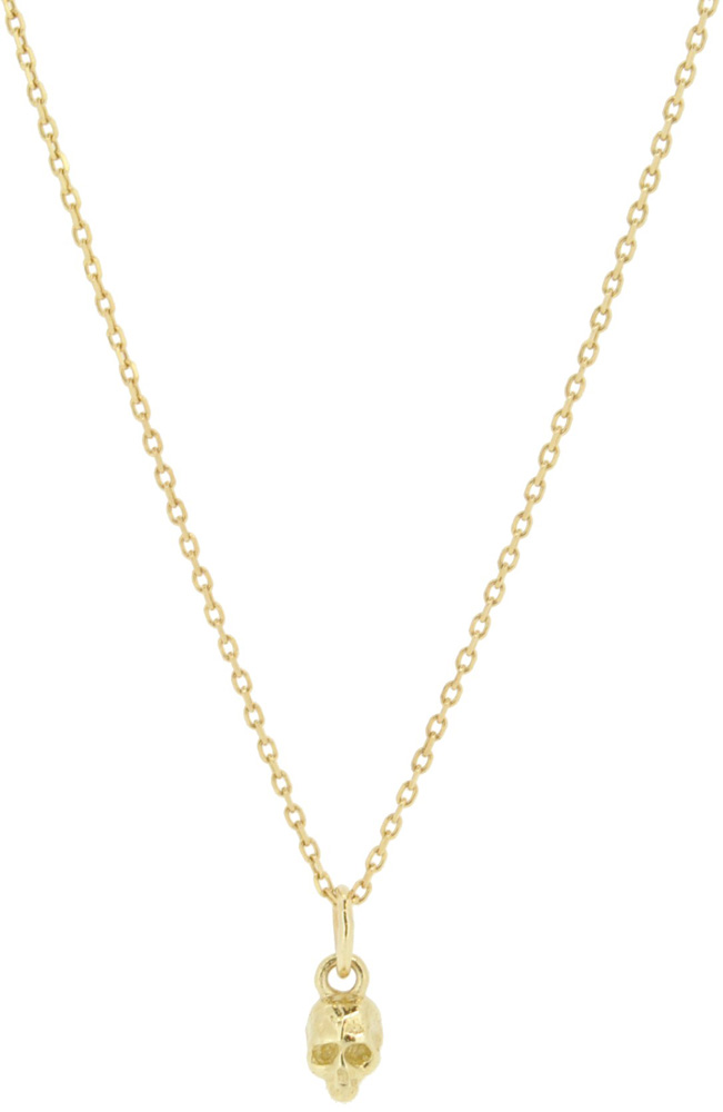 13W-303 Skull Necklace 36+4cm ¥15,000+tax