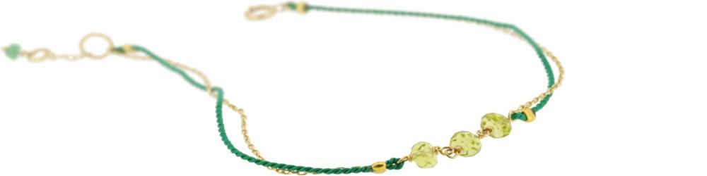 Peridot×Green13W-410 Witch Bracelet 16+1cm ¥12,000+tax